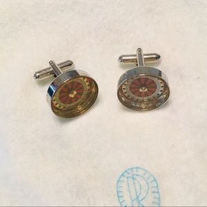 Other - Men's French Cuff Links, Roulette